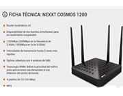 ROUTER COSMOS1200 DUAL BAND -AC